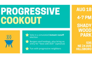 Progressive cookout promotion