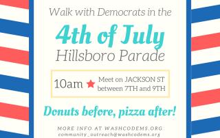 4th of July Hillsboro parade information.
