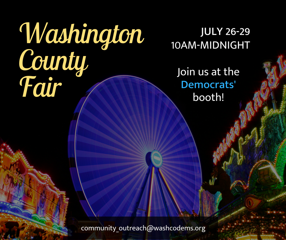 Washington County Fair 2018 event promo