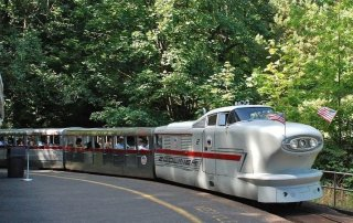 Washington Park and Zoo Railway Portland.