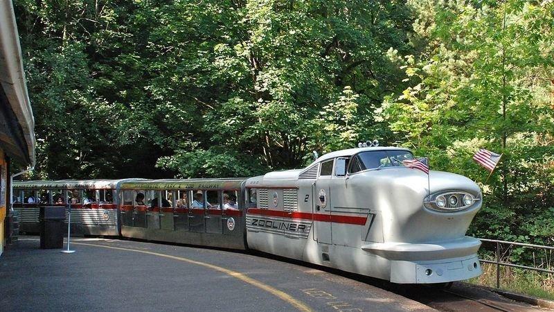 Washington Park and Zoo Railway Portland.