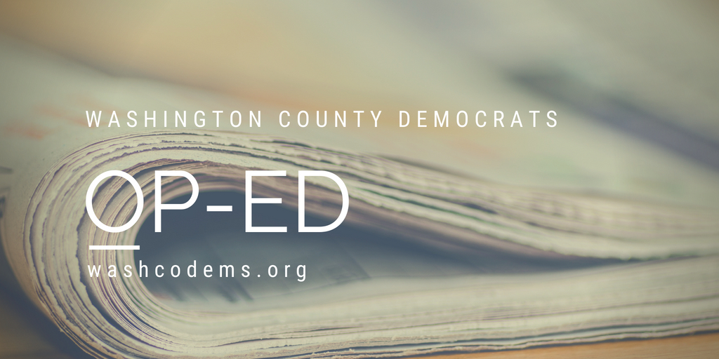 WashCo Dems op-ed