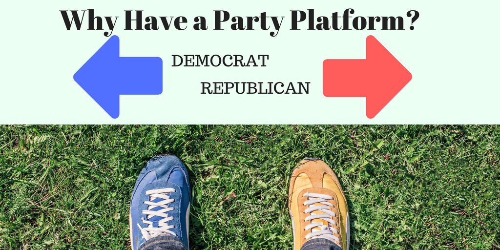 So Why Bother Having A Party Platform?