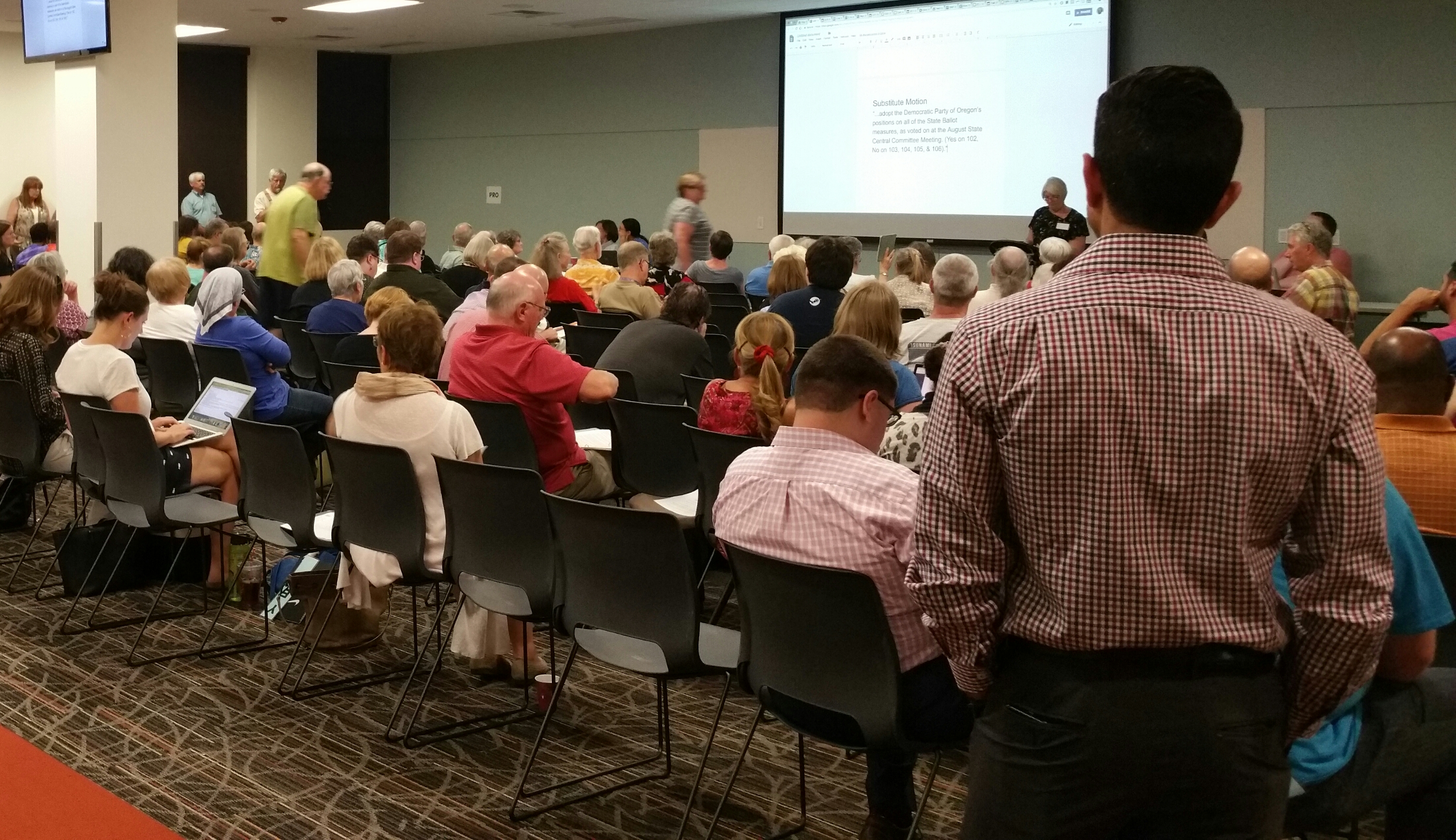 Central Committee Meeting, September 26, 2018