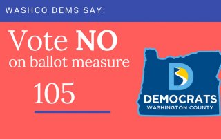 Vote no on oregon ballot measure 105