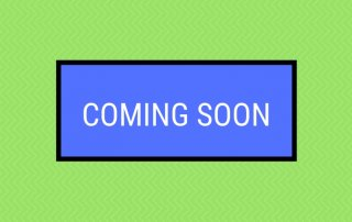 coming soon let's the user know content should be expected shortly