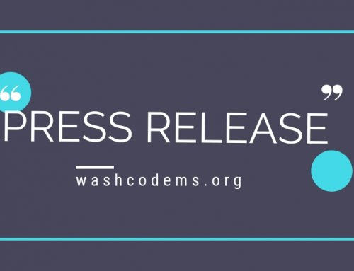 Washington County Democrats Press Release: May 2021 Candidate Endorsements
