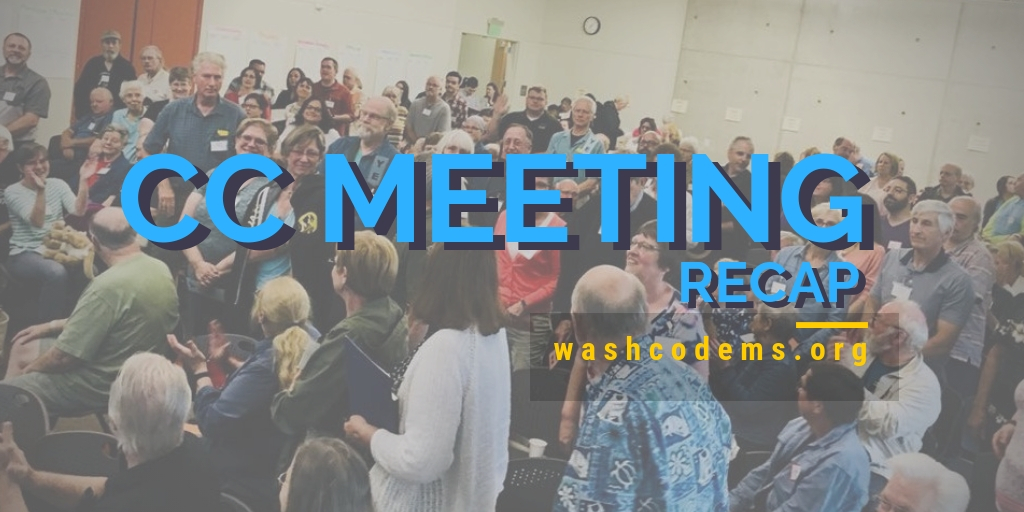May 2019 CC Meeting Recap