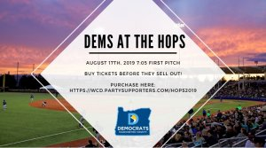 Dems at the Hops 2019 - Aug 17 7pm purchase at https://wcd.partysupporters.com/hops2019
