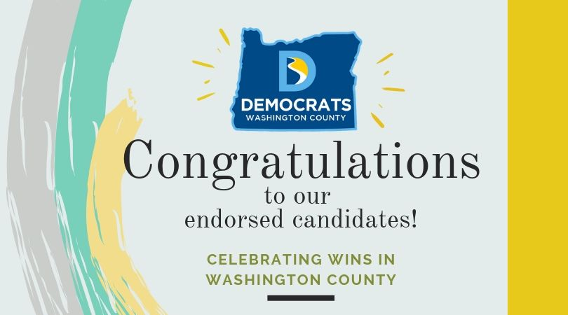 Congratulations to our Endorsed Candidates!
