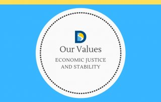 article series logo economic justice and stability