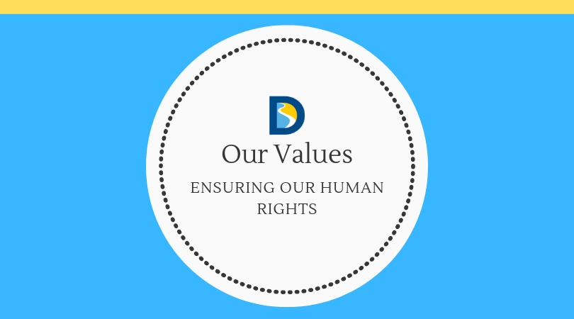 Our Values:  Ensuring Our Human Rights
