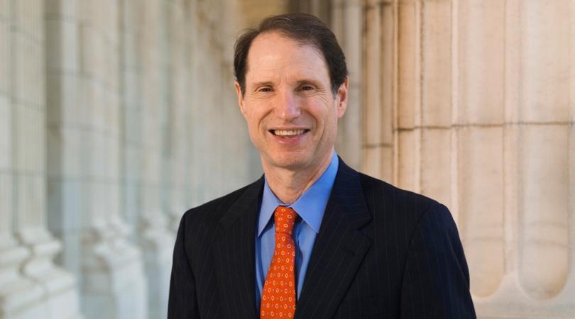 head shot of Senator Ron Wyden
