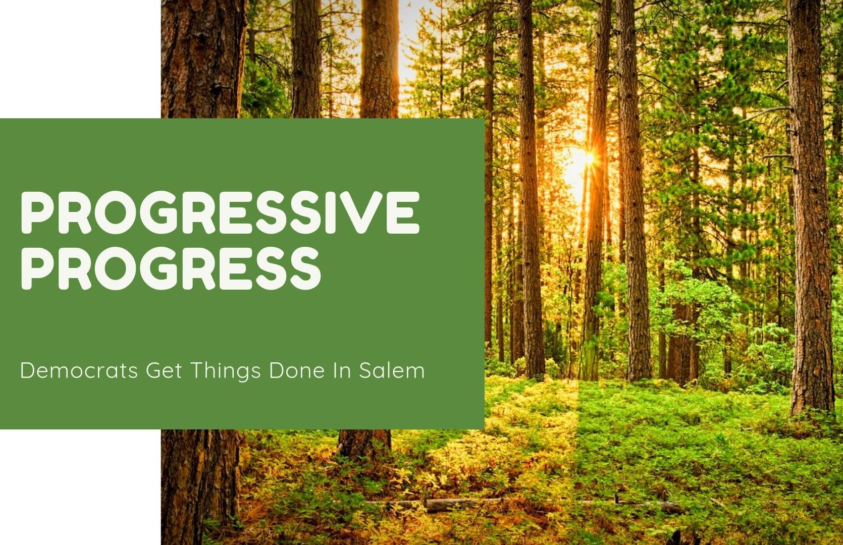 Democrats Get Things Done in Salem