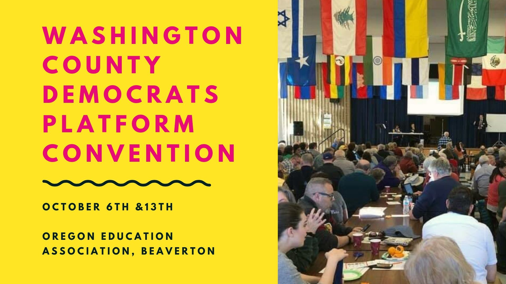Washington County Democrats 2019 Biennial Platform Convention