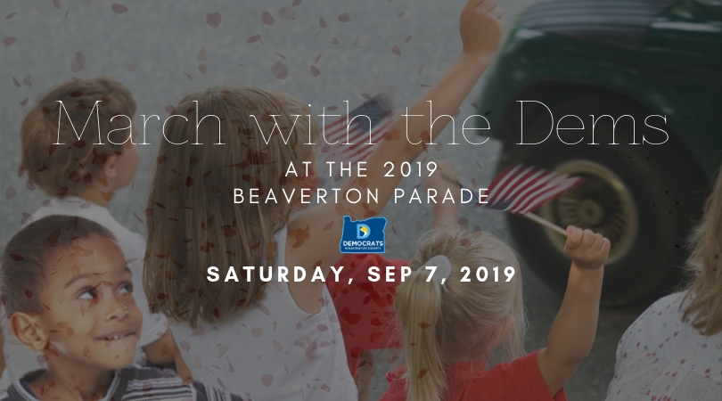 Join us for the 2019 Beaverton Celebration Parade!