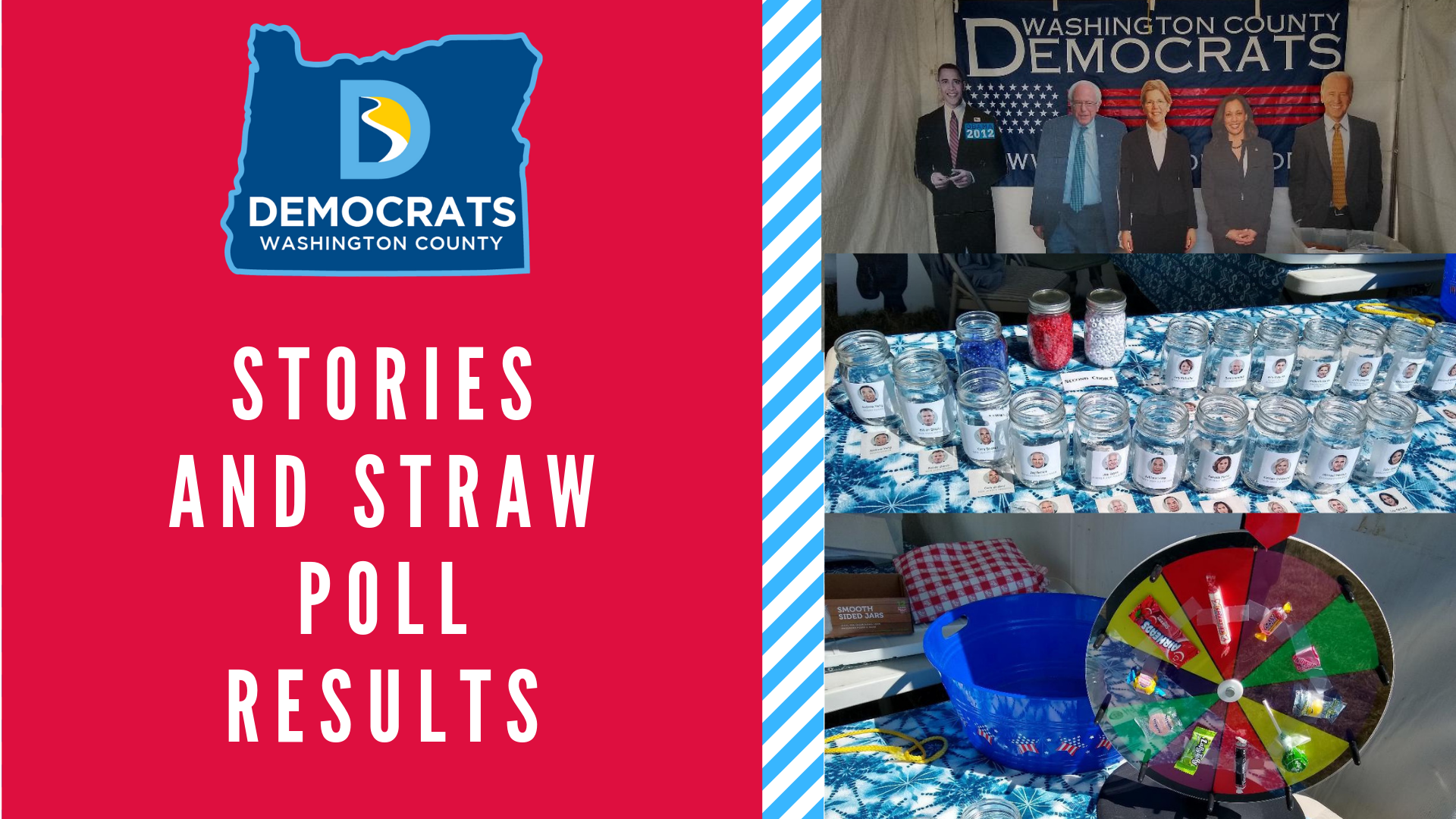 Washington County Fair Stories and Straw Poll Results