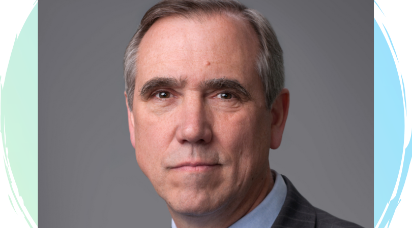 headshot of senator Jeff Merkley