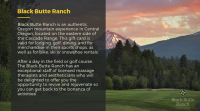 neuberger gala promo featuring black butte ranch