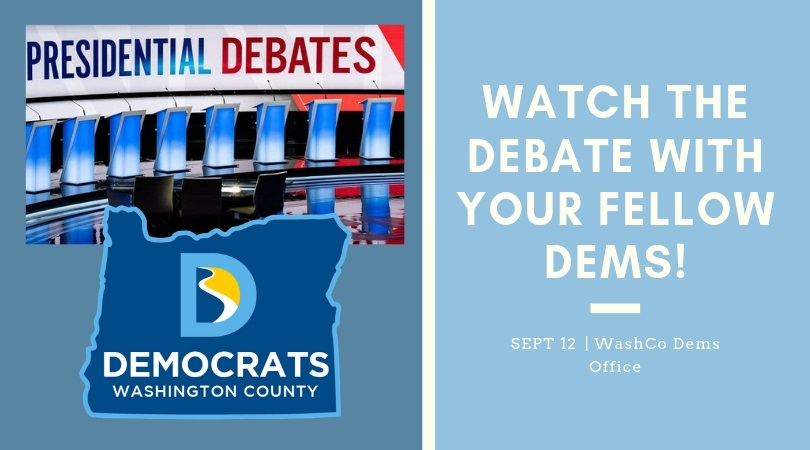3rd Democratic Debate Watch Party