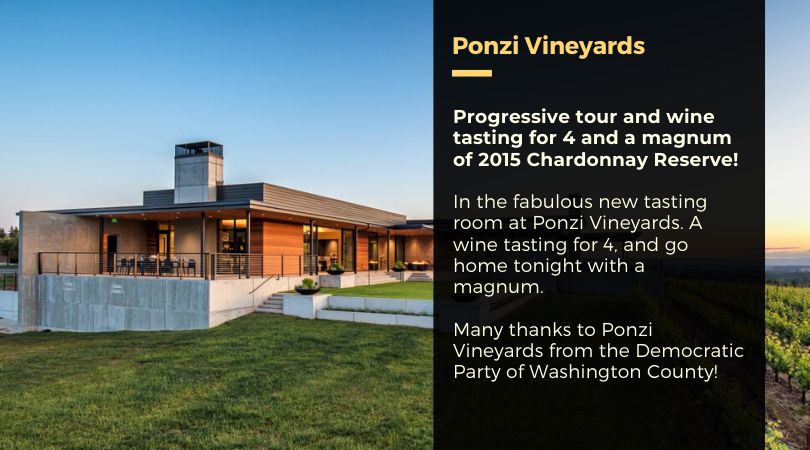 neuberger gala promo featuring ponzi vineyard