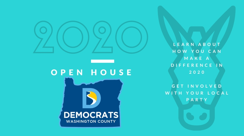 WashCo Dems March 2020 Open House