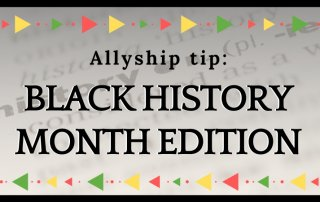 dictionary like background with the word history with african american color styling on the header and footer