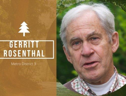 Gerritt Rosenthal, the Right Experience for Portland Metro