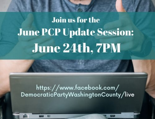 [ONLINE] PCP Update Session: June 24th, 7PM