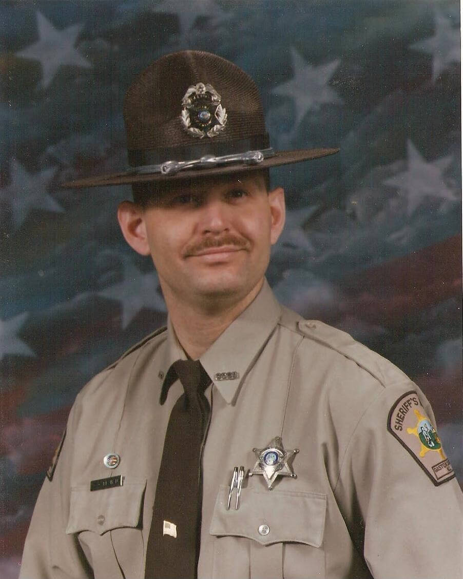Picture of Clayton Callahan as a Deputy in North Carolina