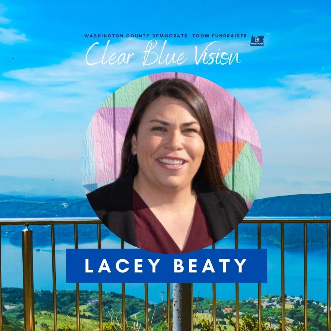 headshot of Beaverton Mayor candidate Lacey Beaty
