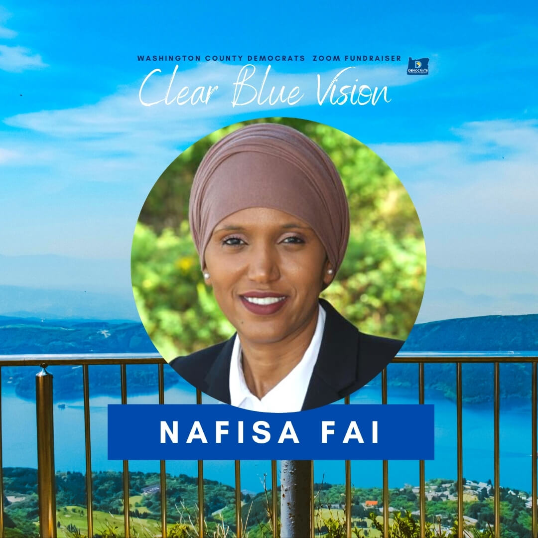 headshot of County Commissioner District 1 candidate Nafisa Fai