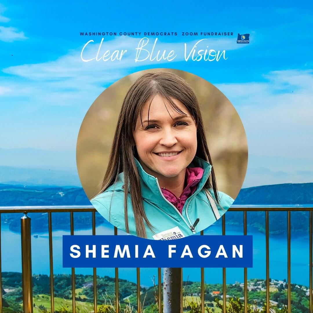 headshot of secretary of state candidate Shemia Fagan
