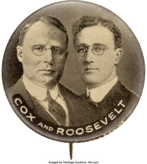 FDR and Cox from DNC