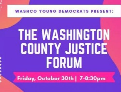 Washington County Criminal Justice Forum (10/30)