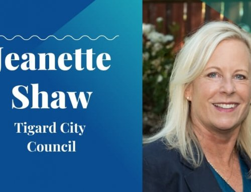 Jeanette Shaw, Tigard City Council – Candidate Interview