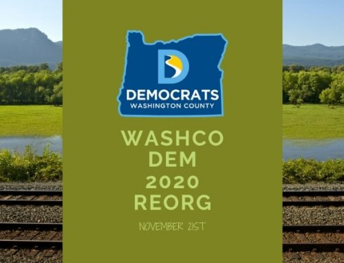 WashCo Dems 2020 Organizational Meeting