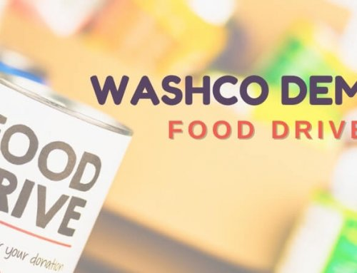 WashCo Dems Food Drive 2020