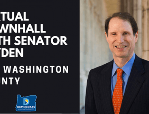 Virtual Town Hall with Senator Ron Wyden (Jan 17)