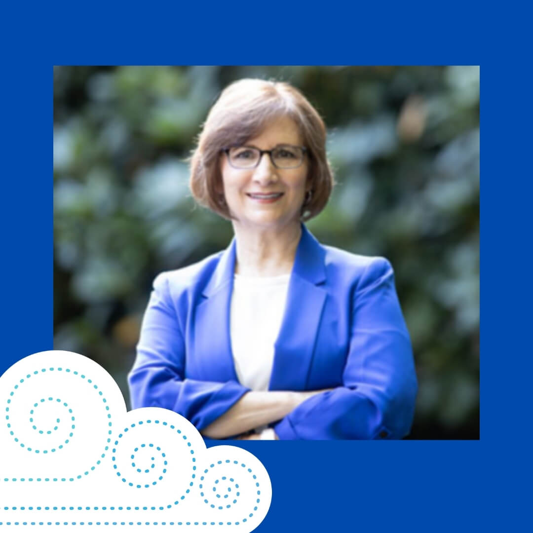 suzanne bonamici with the springfest illustrated cloud