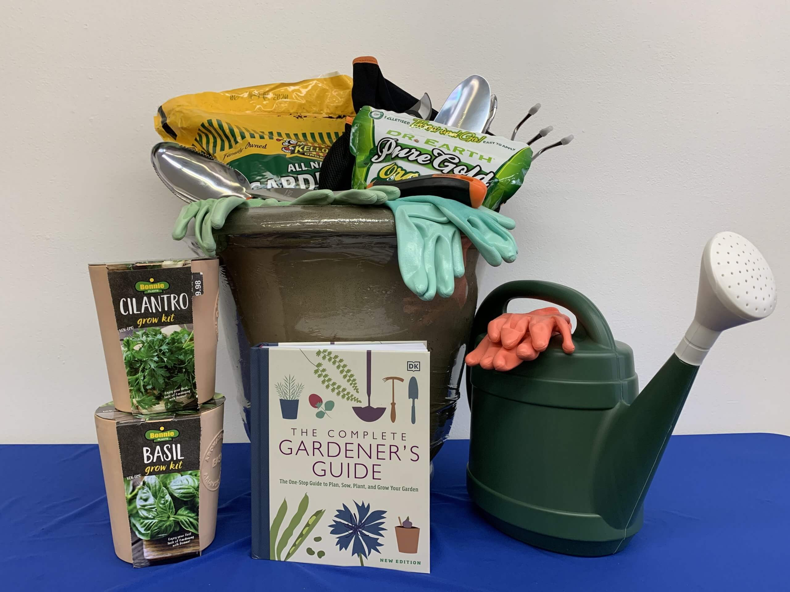 image of various garden items