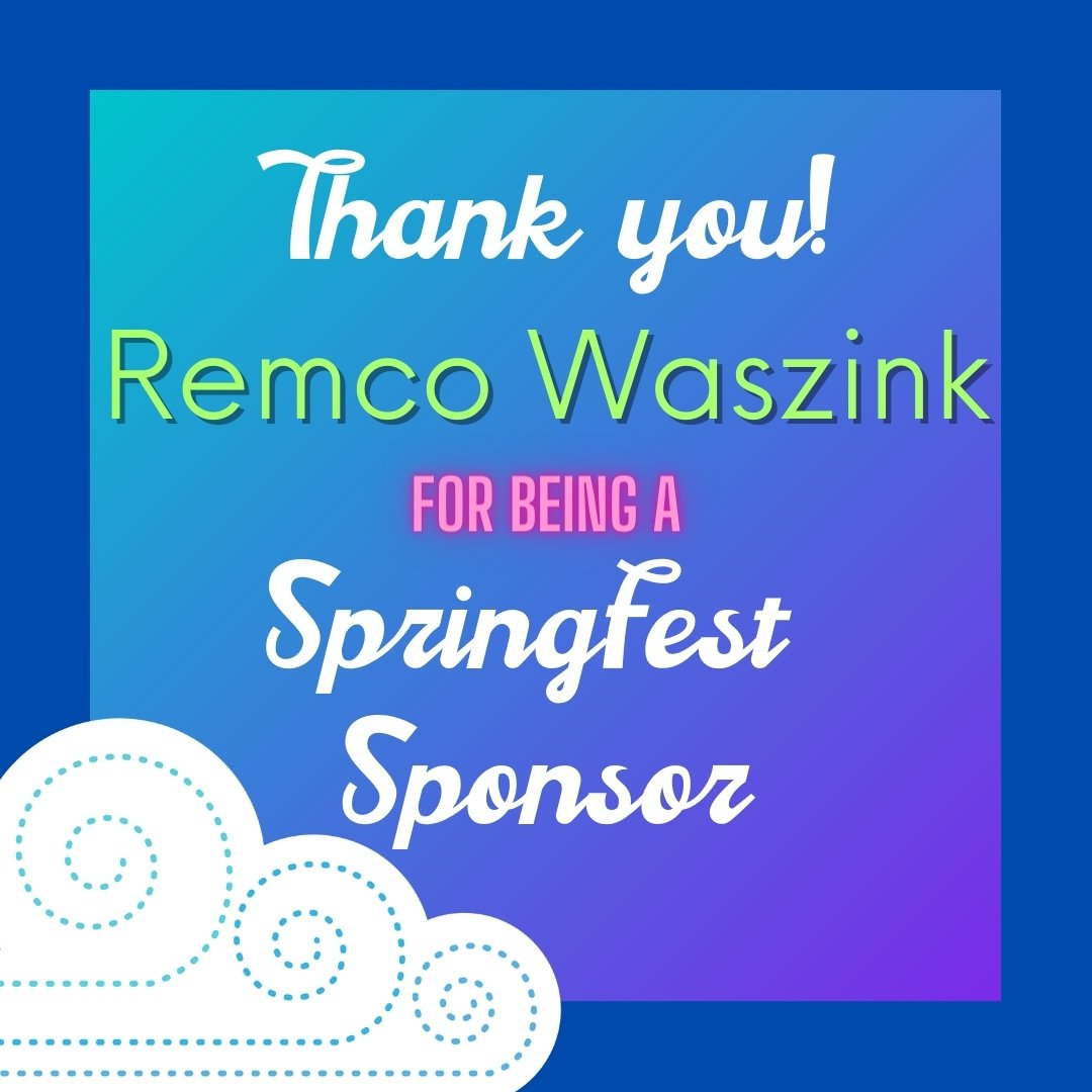 sponsor remco waszink with the springfest illustrated cloud