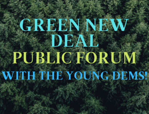 The Green New Deal Forum (3/13) – Zoom