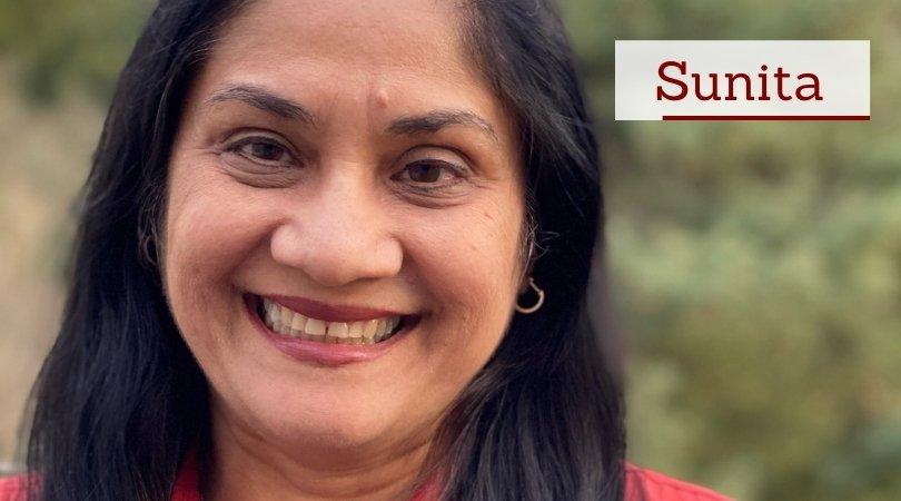 headshot of Sunita Garg