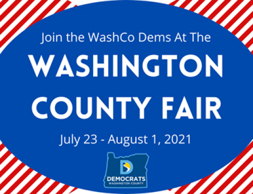 WashCo Dems at the 2021 Washington County Fair!