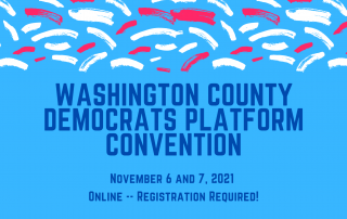 Announcement of the 2021 County Platform Convention